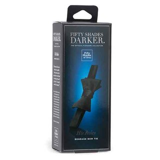 Fifty Shades of Grey - Darker His Rules Bondage Bow Tie